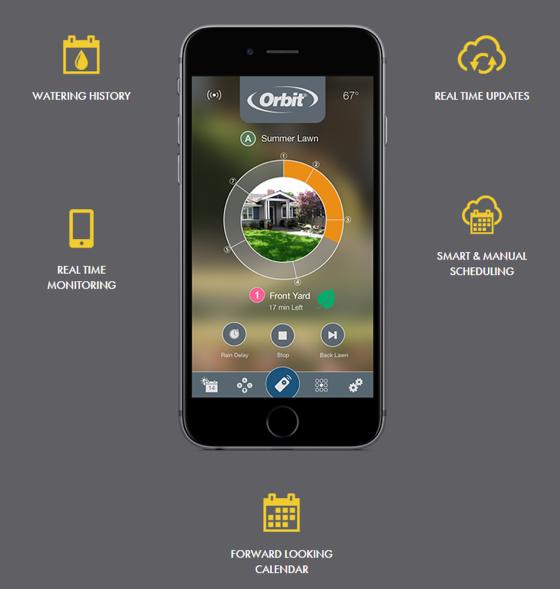 Orbit B-hyve - app